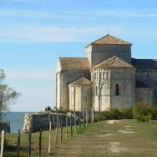 Talmont-sur-Gironde : l'église Sainte-Radegonde