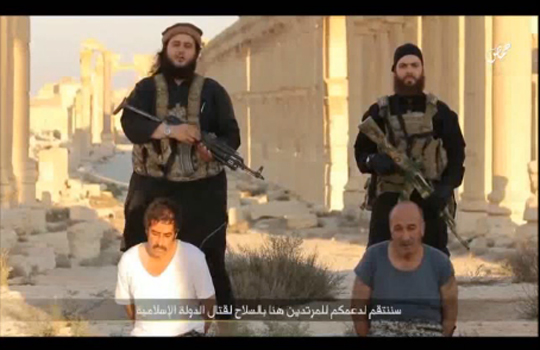 【ISIS】銃の連射速度を確かめるまで人間を撃ち殺してみたw