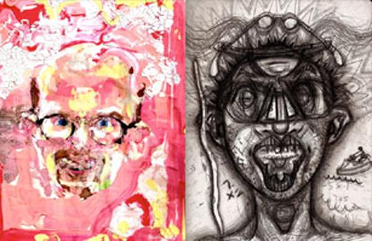 【グロ注意】「麻薬中毒者」たちが描いた絵が完全に狂ってる・・・