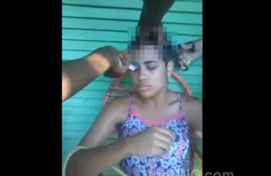 【拷問】麻薬ディーラーに捕まった少女の拷問映像・・・閲覧注意