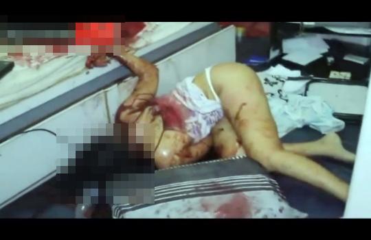 【グロ注意】彼女の家に行ったら部屋中が血塗れになってた・・・