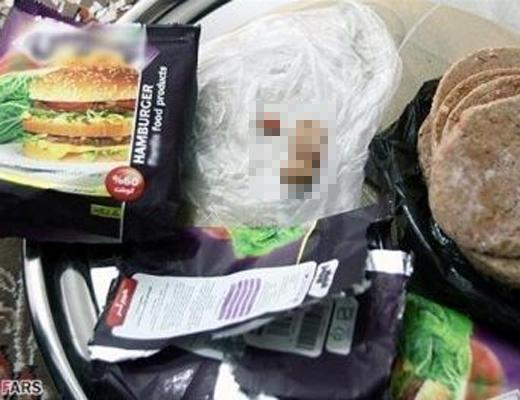 【閲覧注意】イランでハンバーガーの中から人間のアレが入ってた・・・