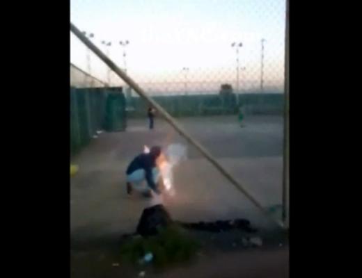 【閲覧注意】13歳少年が爆竹で遊んだ結果→目が爆発して失明・・・ ※動画有り