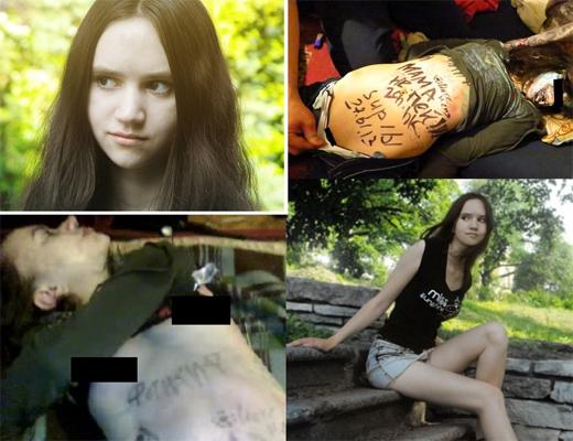 【素人エロ】ロシアの美少女がパーティに参加 ⇒ 泥酔して服を脱がされ無修正のマ○コまで晒される…
