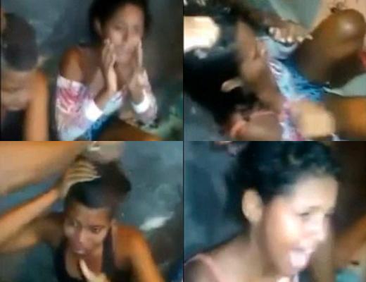 【婦女暴行】麻薬ディーラーの少女が拉致られボッコボコにされた後マル坊主に・・・