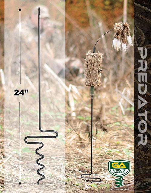 Predator hunting pole