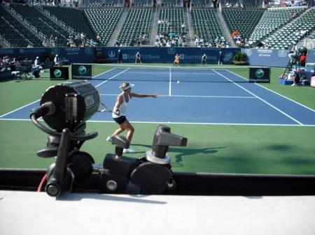Bethany Mattek and the Radar Gun