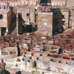VIDEO: Moroccan Tanneries in Fez and the Unheavenly Scent