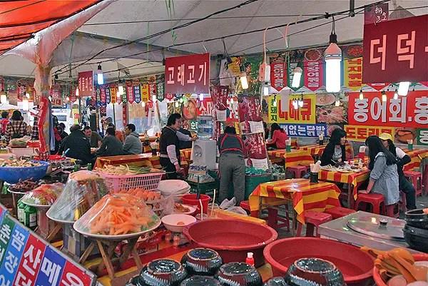 korean festival tents,