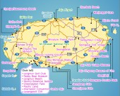 map of Jeju island, jeju island sightseeing map, what to do in jeju island