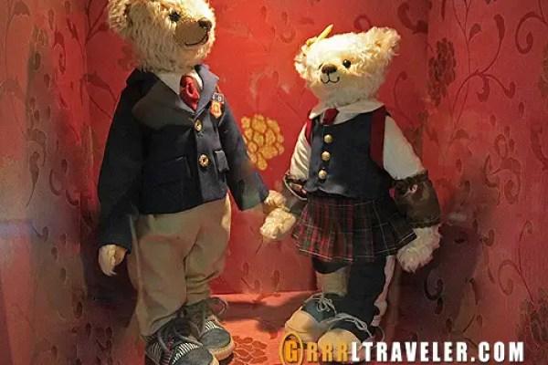 teddy bear museum jeju, teddy bears, jeju island sightseeing map, what to do in jeju island