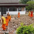working monks