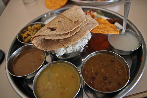 indian thali, indian food