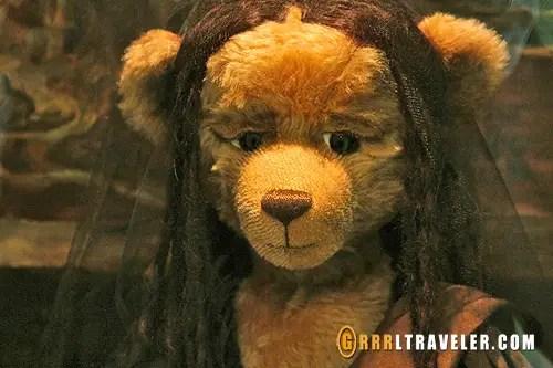 mona lisa bear, teddy museum in jeju