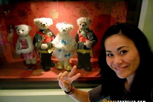 korean drama goong bears, jeju island teddy bear museum, teddy bear museums in korea, teddy bear museum gung korean drama