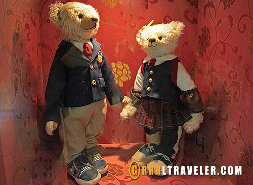 gung korean drama teddy bears, bears of goong korean drama, teddy bear museum jeju island