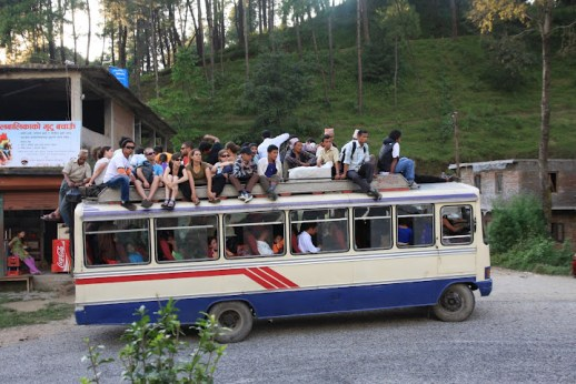 nepalese bus