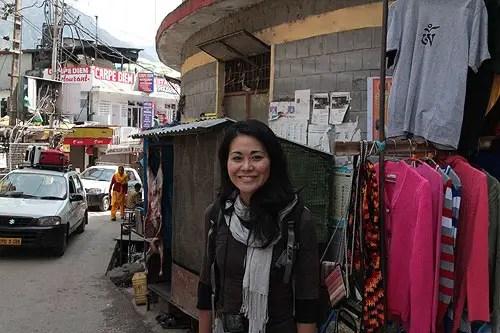 mcleodganj road, dharamsala