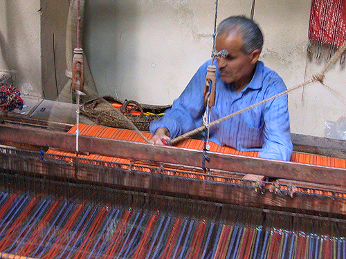 moroccan Fabric and Carpet factories