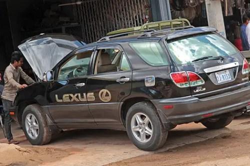 lexus in cambodia