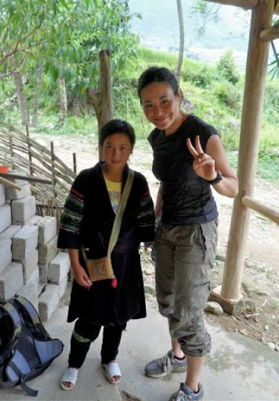 hiking in sapa valley, sapa trekking guide, grrrltraveler in Sapa, trekking in Vietnam
