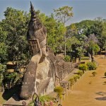 Finding the bizarre at Buddha Park (Vientiane, Laos)