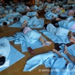 Sleeping at a Jjimjilbang (a Korean bathhouse & sauna)