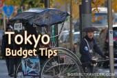 tokyo budget tips