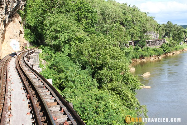 thai burma railway, death railway, kachanaburi guide, thamkase bridge