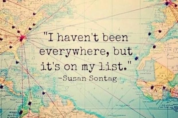 inspirational, travel quote, inspiration, susan sontag quote