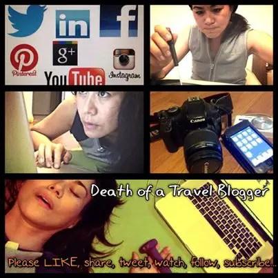 Insta-death-blogger, blogging success