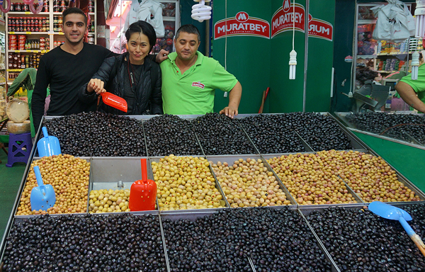 Istanbul olives, turkish olives