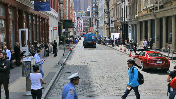 prince street soho, soho film location, sex & the city soho location, sex & the city charlottes art gallery, filming in New York City