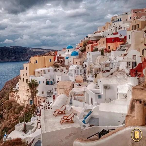 top 5 instagrams for travel, santorini greece, santorini instagrams