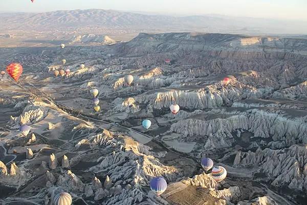 aerial cappadocia