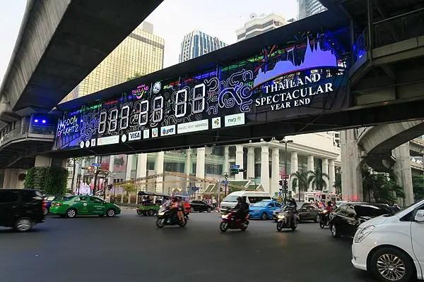 countdown clock in bangkok