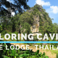 cave lodge, caving in thailand, exploring caving in thailand