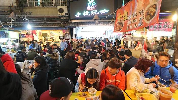 top taiwan foods, raohe market