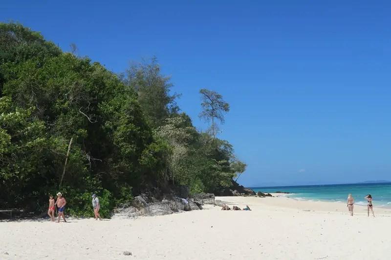 bamboo island, ko phi phi tour