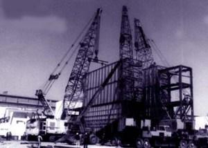 Grúas estructurales 90 a 300 tons