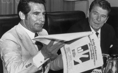 Rios Montt and reagan