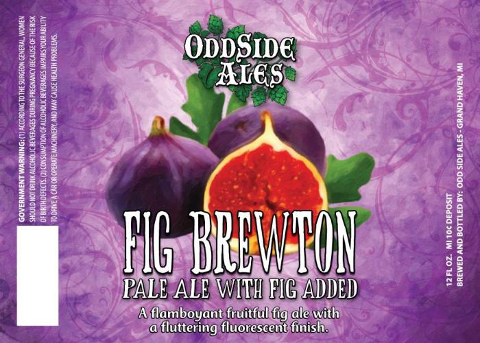 Odd Side Fig Brewton Pale Ale with Fig