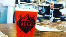 Jagged Mountain Peach Cobbler Imperial Peach Amber Ale