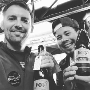 Beer Selfie with Manny from FeerNoBeer