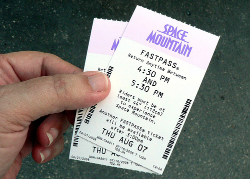 Fast Pass Coupon