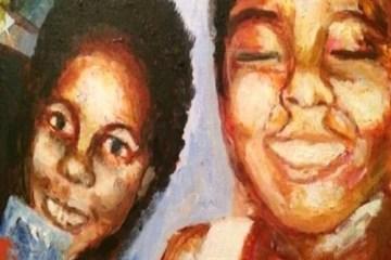 TeKamau and Amani Fela's EP cover art
