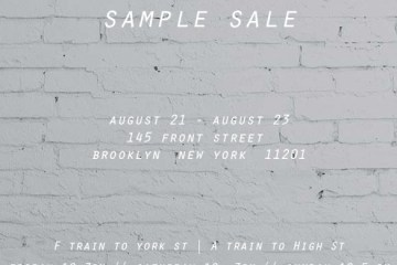 10.DEEP Sample Sale