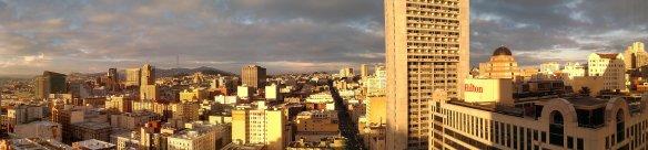 22nd floor, Parc 55 Hotel