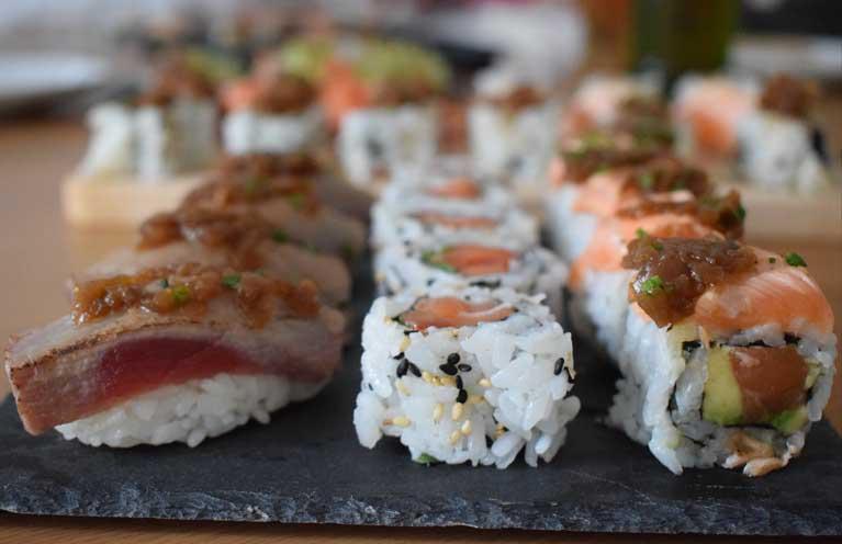 Fast Kibuka, sushi Barcelona