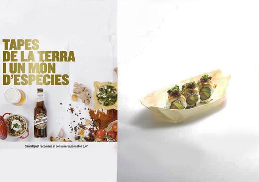 Kibuka sushi en Barcelona tapes de la terra